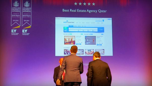 MD Properties Won Best Real Estate Website Award designed by GO-Gulf