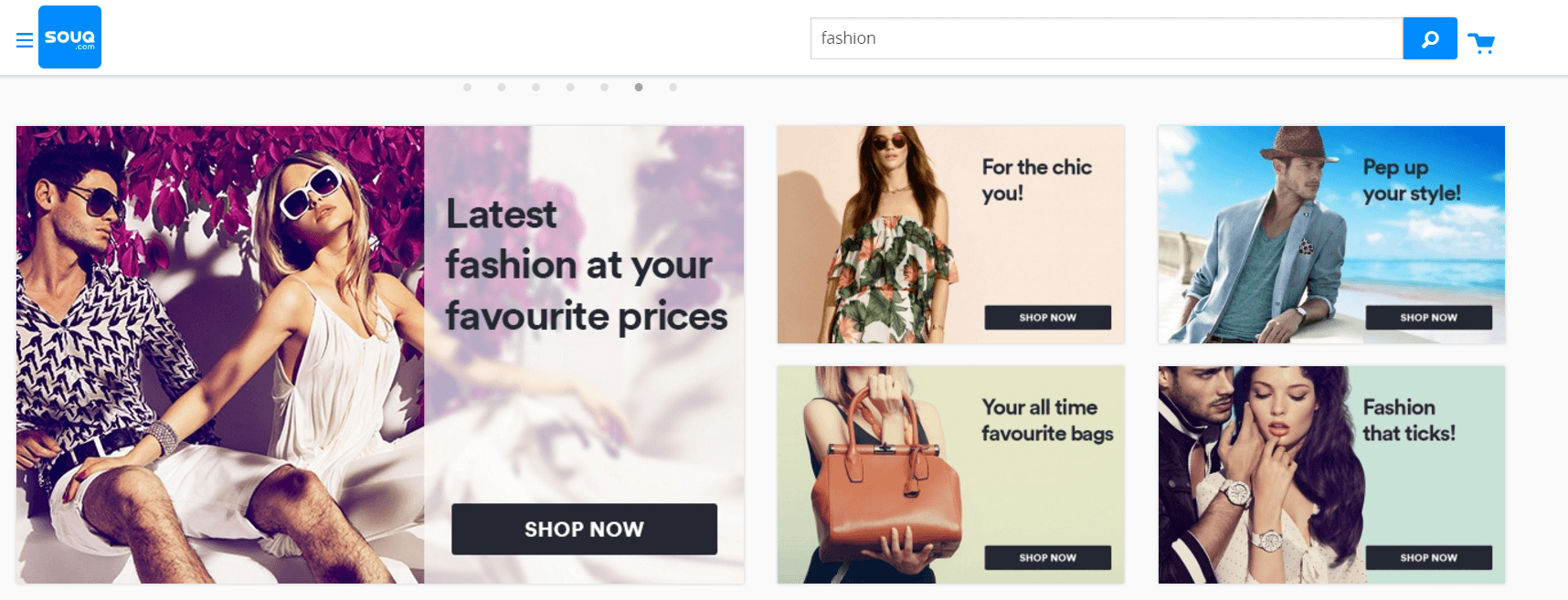 the leading ecommerce website design trends in uae web design