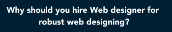 Why should you hire Web design Cairo for robust web designing tricks?